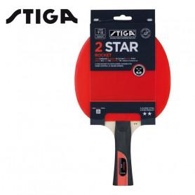Raquette de ping-pong STIGA 2 Star Rocket Unisexe