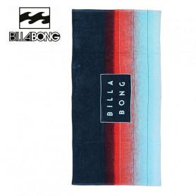 Serviette de plage BILLABONG Die Cut Bleu / Rouge Unisexe
