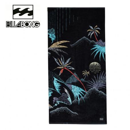 Serviette de plage BILLABONG Waves Noir Unisexe