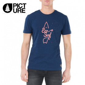 T-shirt PICTURE ORGANIC Gosford Bleu Homme