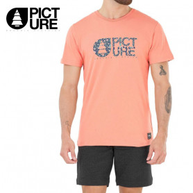 T-shirt PICTURE ORGANIC Basement Mucha Pêche Homme