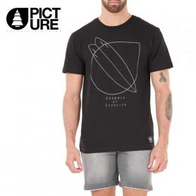 T-shirt PICTURE ORGANIC Waratah Noir Homme