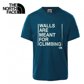 T-shirt THE NORTH FACE WAMFC SS Bleu Homme