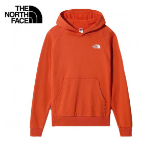 Sweat THE NORTH FACE Raglan Red Box Hoodie Orange Homme