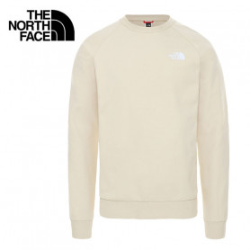 Sweat THE NORTH FACE Raglan Red Box Sable Homme
