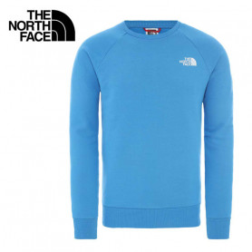 Sweat THE NORTH FACE Raglan Red Box Bleu ciel Homme
