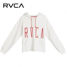 Sweat à capuche RVCA Stilt Hoody Blanc Femme