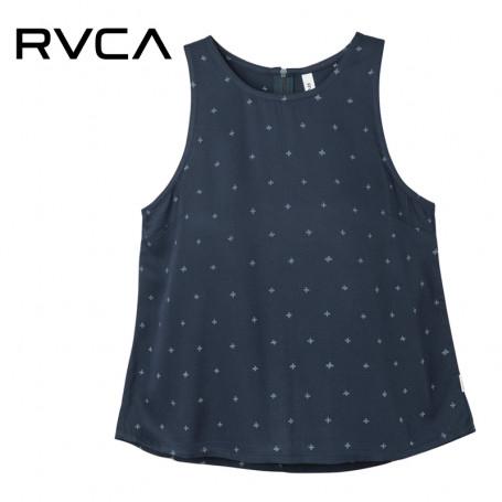 Top RVCA Shieldless Bleu Femme