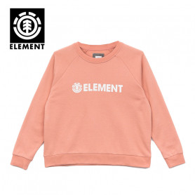 Sweat ELEMENT Logic Crew Pêche Femme