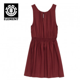 Robe ELEMENT Someone Lie de vin Femme