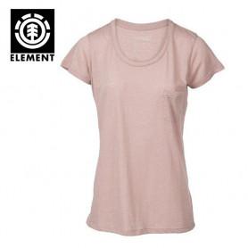 T-shirt ELEMENT Elba Rose Femme