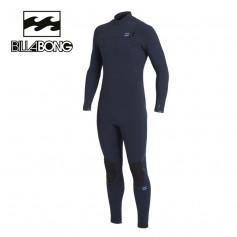 Combinaison de surf BILLABONG Furnace Comp 4/3 Bleu marine Homme