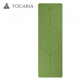 Tapis de Yoga / Fitness YOGARIA YogaMat Vert
