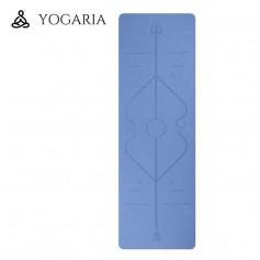 Tapis de Yoga / Fitness YOGARIA YogaMat Bleu Clair