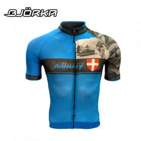 Maillot de vélo BJORKA Annecy Bleu Homme