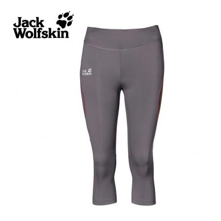 Collant JACK WOLFSKIN Passsion Trail Gris Femme