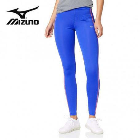Collant long MIZUNO Drylite Core Long Tights Bleu Femme