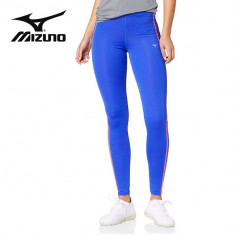 Collant long MIZUNO Drylite Core Long Tights Bleu Femme
