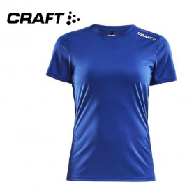 Tee-shirt CRAFT Community Bleu électrique Femmes