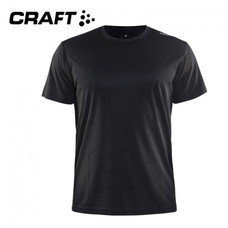 Tee-shirt CRAFT Community Noir Hommes