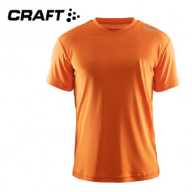 Tee-shirt CRAFT Community Orange fluo Hommes
