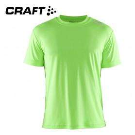 Tee-shirt CRAFT Community Vert fluo Hommes