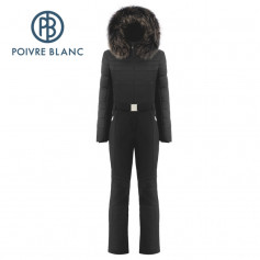 Combinaison de ski POIVRE BLANC W18-0830 WO/B Noir Femme