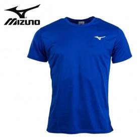 Tee-shirt MIZUNO Drylite Promo Bleu électrique Unisexe