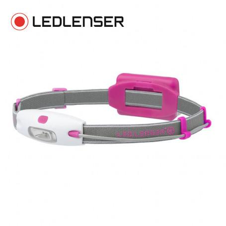 Lampe frontale LED LENSER Neo Rose fluo Unisexe