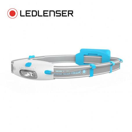 Lampe frontale LED LENSER Neo Bleu Unisexe