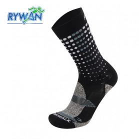 Chaussettes de randonnée RYWAN Atmo Walk Noir / Gris Unisexe