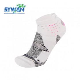 Chaussettes de randonnée RYWAN Nordic Walk Gris clair / Rose Unisexe