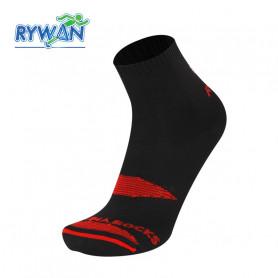 Chaussettes de Trail RYWAN Bi-Climasocks Trail Noir Unisexe