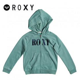 Sweat zippé ROXY Another Chance A Vert gris Fille