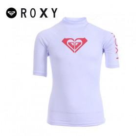 T-shirt U.V. ROXY Whole Heart Blanc Fille