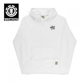 Sweat ELEMENT Liberty Hood Blanc Junior