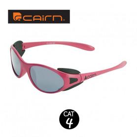 Lunettes de soleil CAIRN Jump Rose 4-6 ans - Cat 4