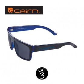 Lunettes de soleil CAIRN Majestic Noir / Bleu Unisexe - Cat 3