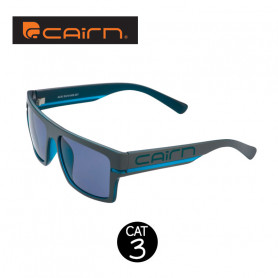 Lunettes de soleil CAIRN Acid Anthracite / Bleu Homme - Cat 3