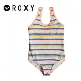 Maillot de bain ROXY Lets Go Surfing Saumon Fille