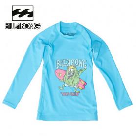 T-shirt U.V. BILLABONG Billa Boy Bleu BB Garçon