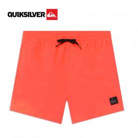 Boardshort QUIKSILVER Everyday 13'' Corail fluo Junior