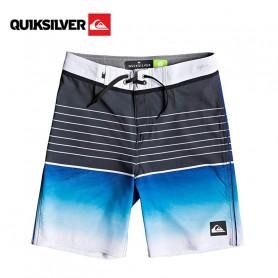 Boardshort QUIKSILVER Highline Slab 17'' Bleu Junior