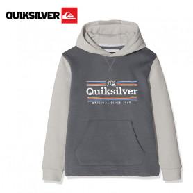 Sweat à capuche QUIKSILVER Dove Sealers Gris Junior