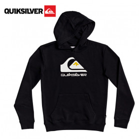 Sweat à capuche QUIKSILVER Omni Logo Noir Junior