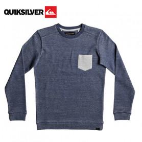Sweat QUIKSILVER Rantau Crew Bleu Junior
