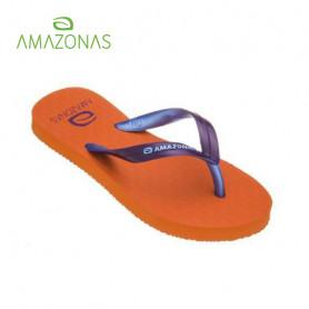 Tongs AMAZONAS Fun Colors Girl Orange Junior