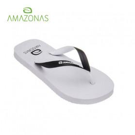 Tongs AMAZONAS Fun Colors Blanc Junior