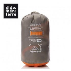Sac de couchage ELEMENTERRE Danka Gris/Orange Unisexe